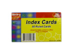 60 Pack ruled index cards