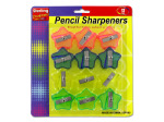 Star-shaped pencil sharpener set