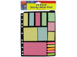Sticky note pad assortment