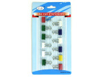 Small binder clips, pack of 12