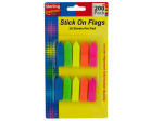 Neon Arrow Stick-On Flags Set