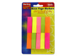 Neon sticky page markers