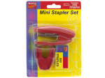 Mini Stapler Set with Staple Remover