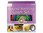 Round Knitting Loom Set