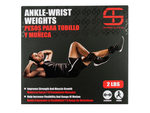 Shred & Tone 2 Pound Ankle-Wrist Weights