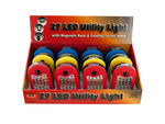 27 LED Utility Light with Magnet & Hook Countertop Display