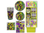 Mardi Gras Tableware Party Display
