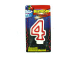 Numerical Birthday Candle