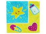 16ct baby toys napkins