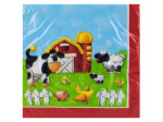 16ct on the farm napkins