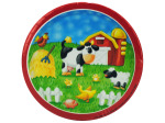 "8ct 7"" on the farm plates"