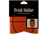 school spirit basketball drink koozie