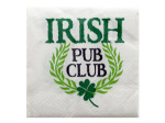 Irish Pub Club Cocktail Napkins Set