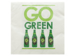 Go Green Irish Cocktail Napkins Set