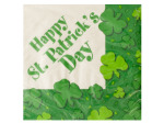 St. Patrick's Day Shamrocks Napkins Set