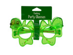 Shamrock Flashing Party Glasses