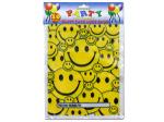 Happy face favor bags