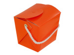 Mini Orange Gift Pail