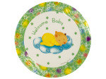 Welcome Baby Party Dinner Plates