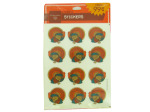 Turkey stickers, pack of 48