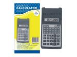 Scientific calculator with fold-back case