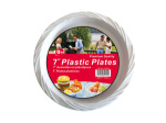 Plastic plates, pack of 10