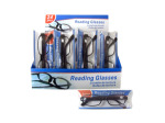 Reading glasses in plastic frames