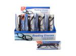 Reading glasses in plastic frames