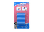 Dog waste cleanup bags, pack of 60
