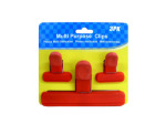 Bag clips, pack of 3