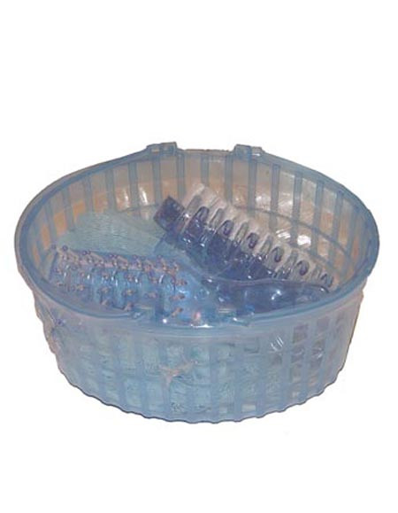 5pc basket bath set
