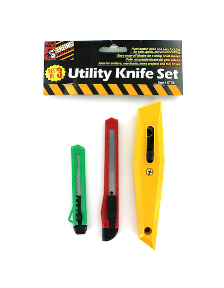 3 pc box cutters