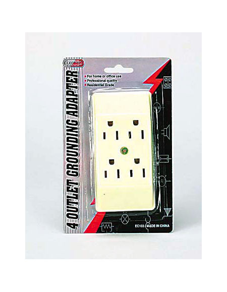 4 outlet wall socket