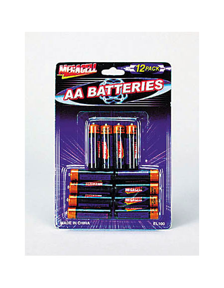"12 pack ""aa"" battery"