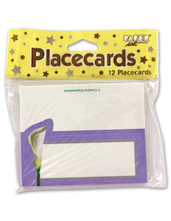 12 lily placecards 167