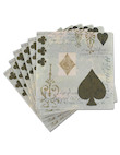 card suits 16pk napkin