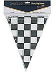 black check banner