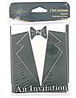 black tie 8ct invite