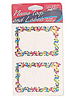 streamers 24ct nametag