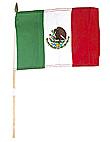 mexico 8x12 cloth flag