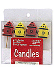 firefighter 4ct candle