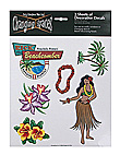 flora tropic decals