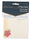floral chic placecard