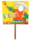 fiesta yard sign