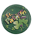 happy st. pat 8ct plate