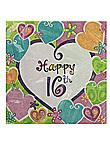 heart whimsy 16ct napk