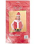 holiday fun santa vests