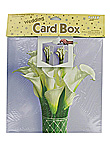 lily bouquet box card