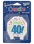 marvelous 40 candle