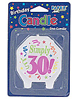 marvelous 30 candle
